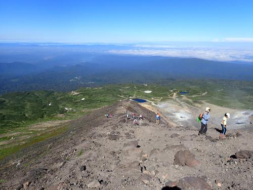 209f1fc39c 旭岳山頂への登り 快晴の登山 ...